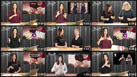 Exempelfilmer på Youtube